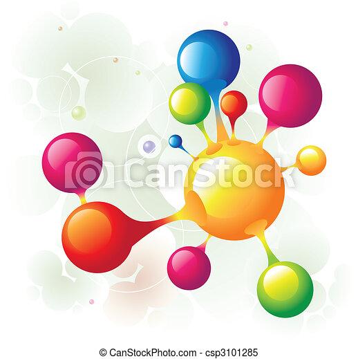 10, molécule - csp3101285