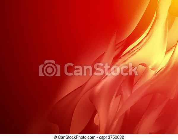 10, résumé, eps, curved., fond, rouges - csp13750632