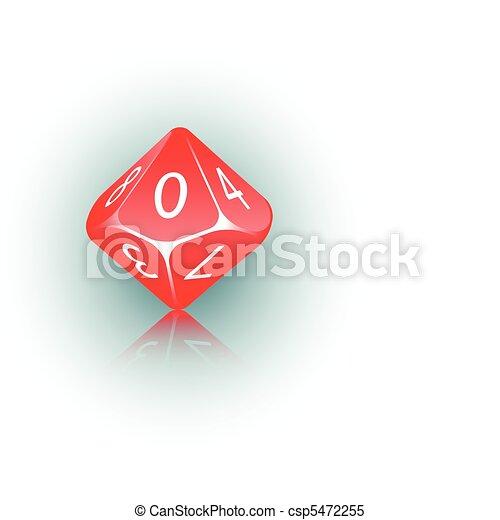 10-sided Die - csp5472255