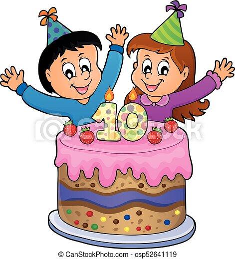 10 viejo imagen a os cumplea os feliz 10 viejo - Cumpleanos para ninos de 10 anos ...