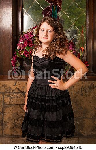 10 year old girl - csp29094548