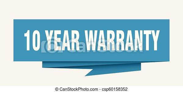 10 year warranty - csp60158352