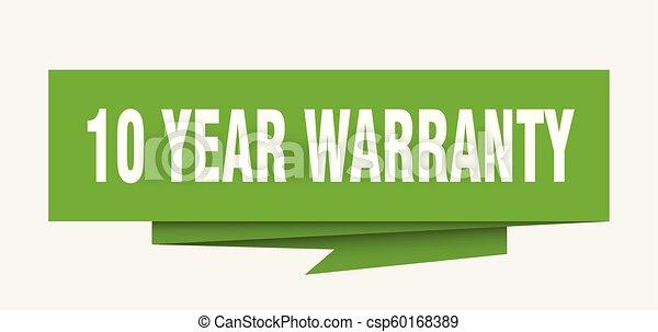 10 year warranty - csp60168389
