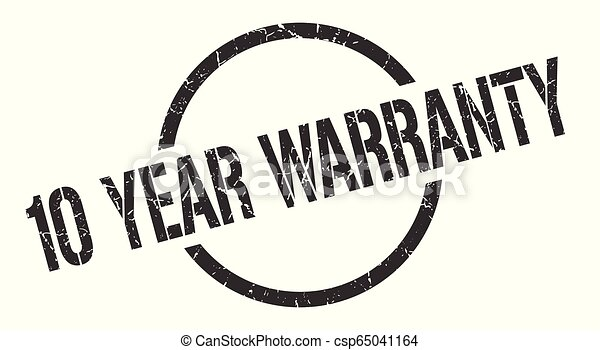 10 year warranty stamp - csp65041164