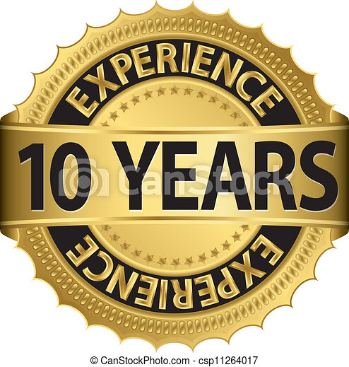 10 years experience  - csp11264017