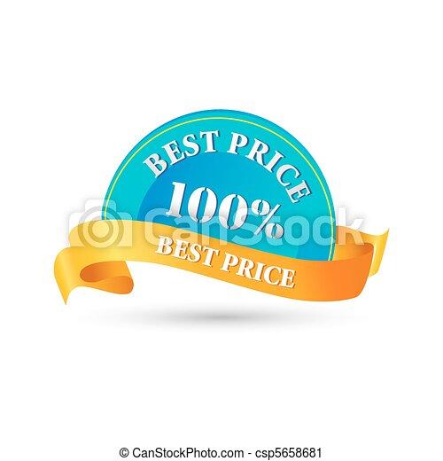 100% best price tag - csp5658681