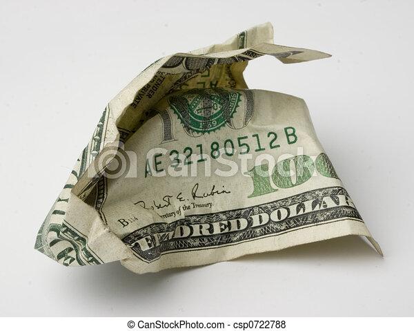 100 dollar bill - csp0722788