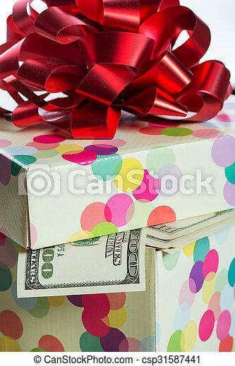 $100, lagförslaget, dollar - csp31587441