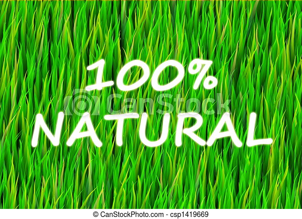 100% Natural - csp1419669