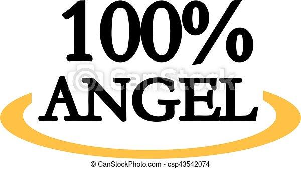 100 percent angel - csp43542074
