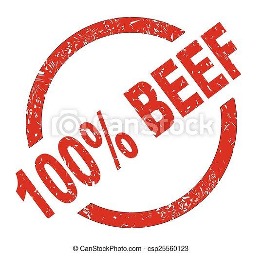 100 Percent Beef - csp25560123