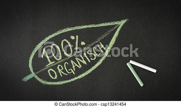 100 percent Organic - csp13241454