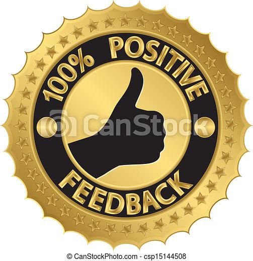 100 percent positive feedback golde - csp15144508