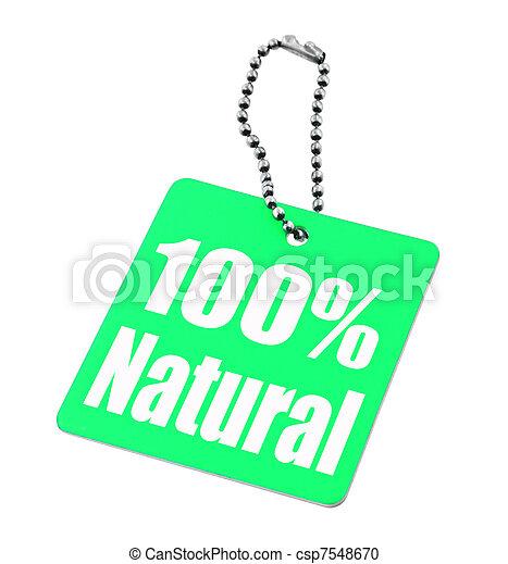 100 percent tag - csp7548670