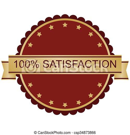 100% Satisfaction Guarantee - csp34873866