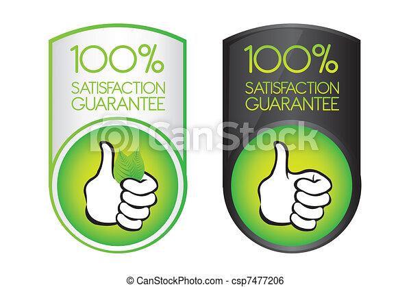 100 satisfaction guarantee  - csp7477206