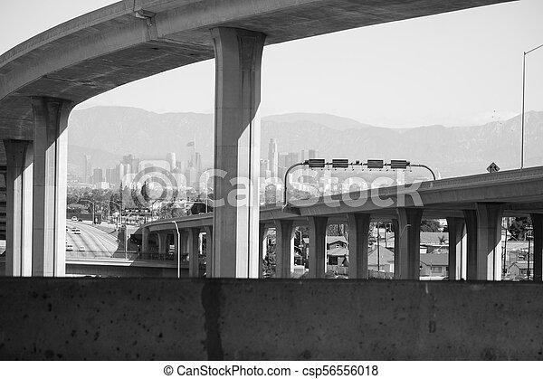 105 Freeway - csp56556018
