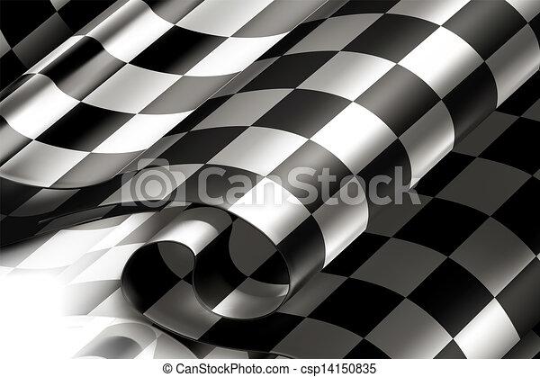 10eps, checkered, fondo, orizzontale - csp14150835