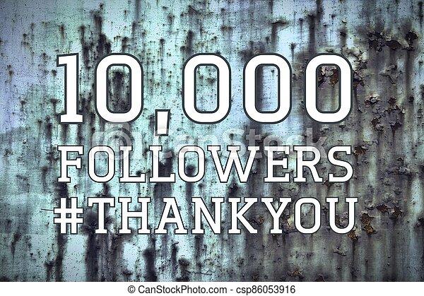 10k followers banner - csp86053916