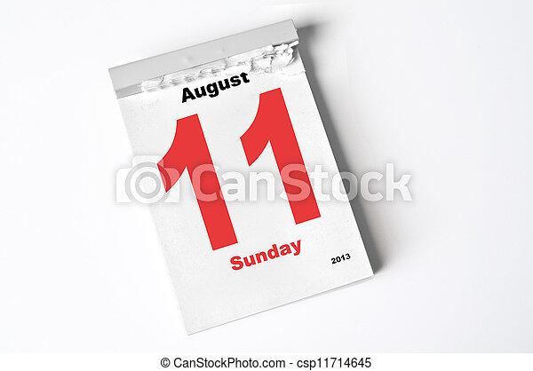 11., augusti, 2013 - csp11714645