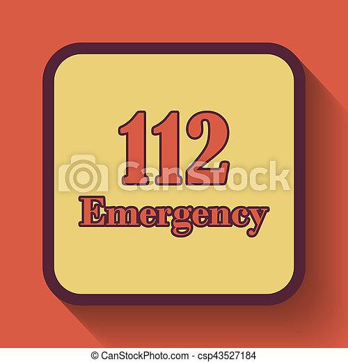 112, 緊急事件, 圖象 - csp43527184