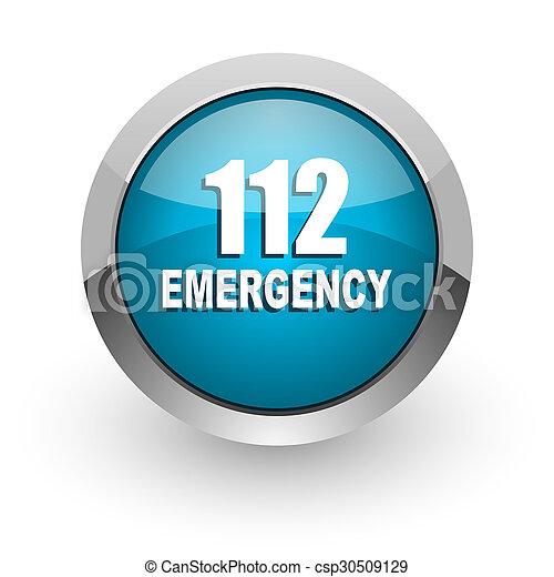 112 emergency icon - csp30509129