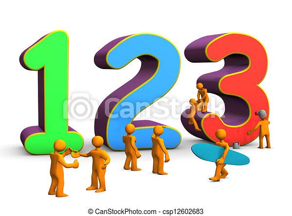 123, matematyka - csp12602683