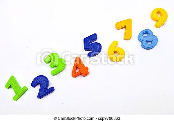 1,2,3,4,5,6,7,8,9 Numbers - csp9788863
