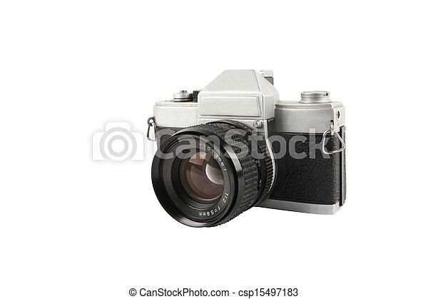 135 old camera - csp15497183
