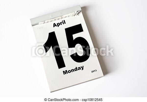 15. April 2013 - csp10812545