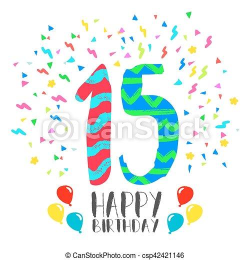 15 invitation anniversaire anne fte carte heureux fte 15 invitation anniversaire anne fte carte heureux csp42421146 stopboris Images