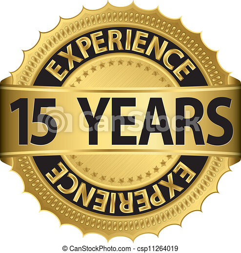 15 years experience - csp11264019