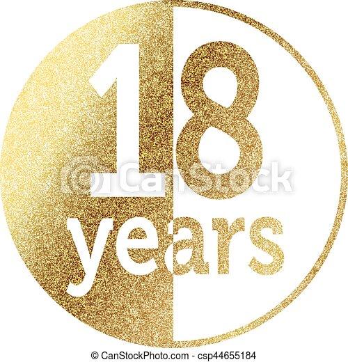 18 years - csp44655184