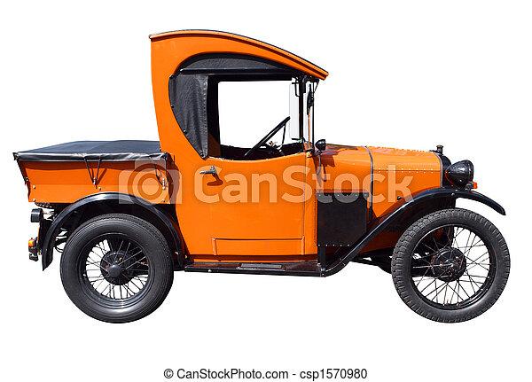 1929, austin, camion, 7 - csp1570980