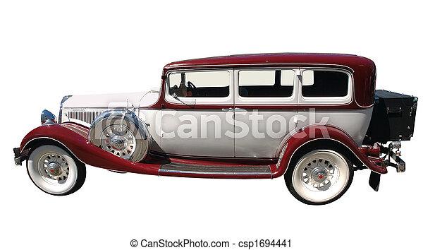 1933 Vintage Car - csp1694441