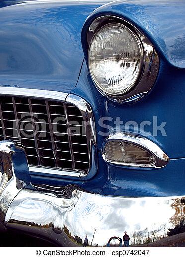 1955 Vintage Chevy Sedan - csp0742047