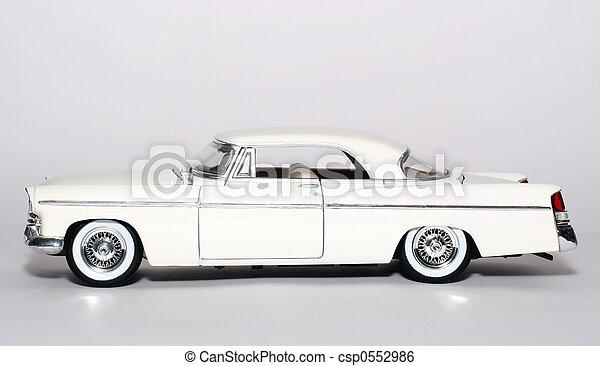 1956 classic US car - csp0552986