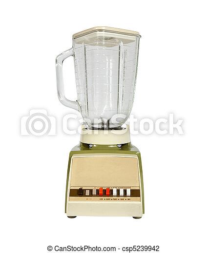 1960's, vendimia, licuadora - csp5239942