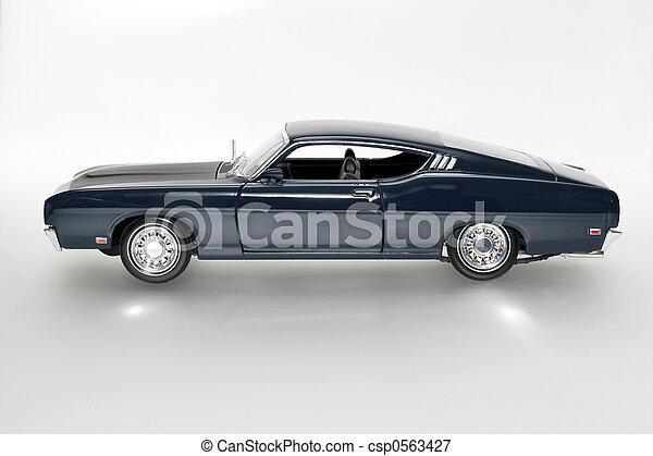 1969 classic US car - csp0563427
