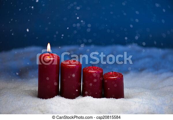 1st Advent - csp20815584