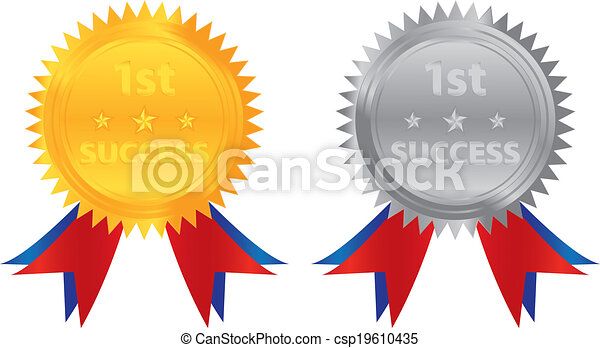 1st success gold silver coin - csp19610435