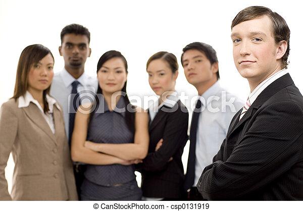 2, グループ, リーダー, ビジネス - csp0131919