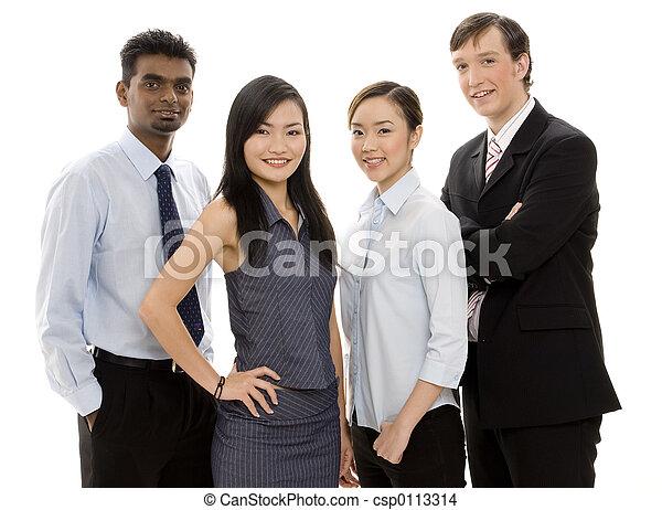 2, 多様, ビジネス チーム - csp0113314