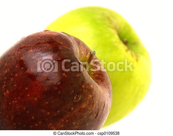2 apples - csp0109538