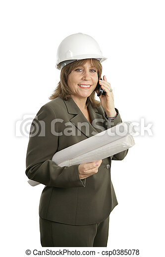 Mujer arquitecto 2 - csp0385078
