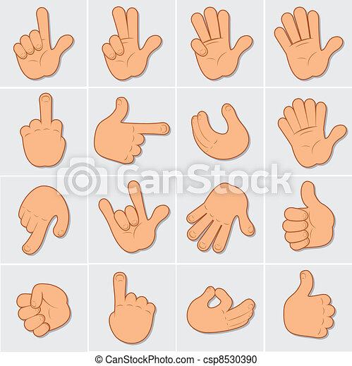 2 art humain agrafe mains grand collection main gestes vecteur humain signes mains - Dessin 2 mains ...