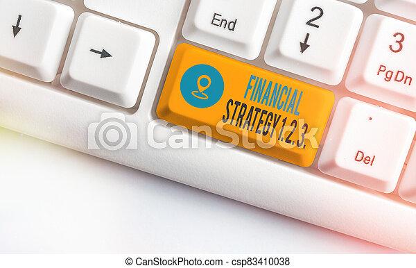 2., colorato, context, organizzato, vuoto, copia, acumi, chiave, nota, scrittura, costruire, finanziario, foto, showcasing, strategia, 3.., tastiera, accessori, 1, space., esposizione, affari - csp83410038