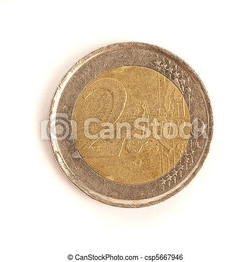2 euro coin - csp5667946