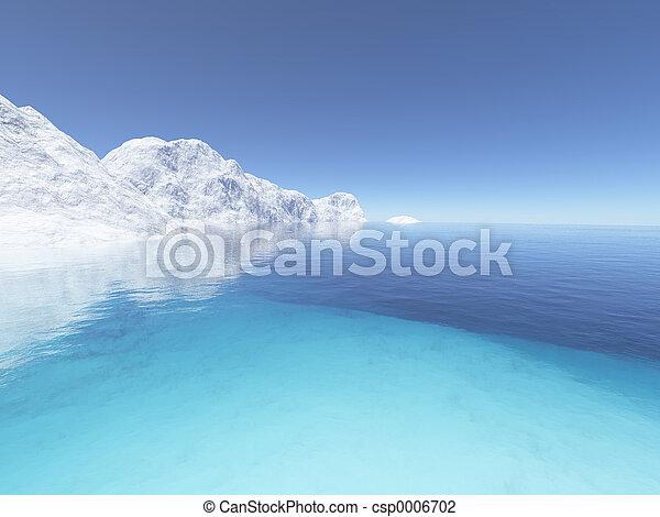2, ghiaccio, terra - csp0006702