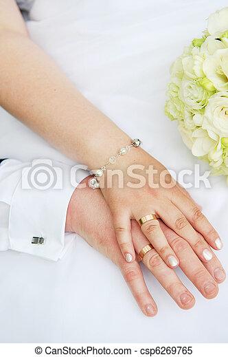 2 hands - csp6269765